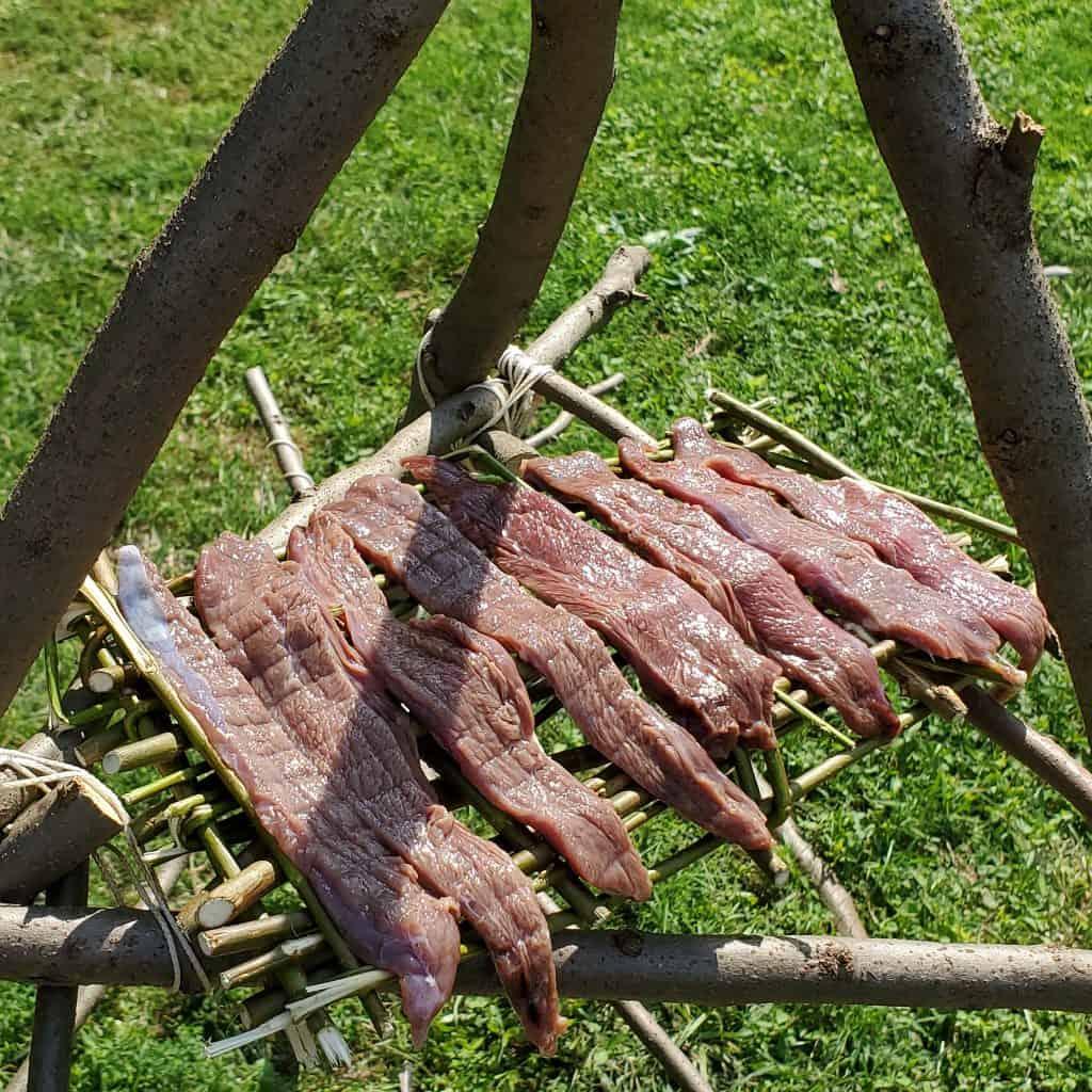 Building-Smoker-Meat-rack