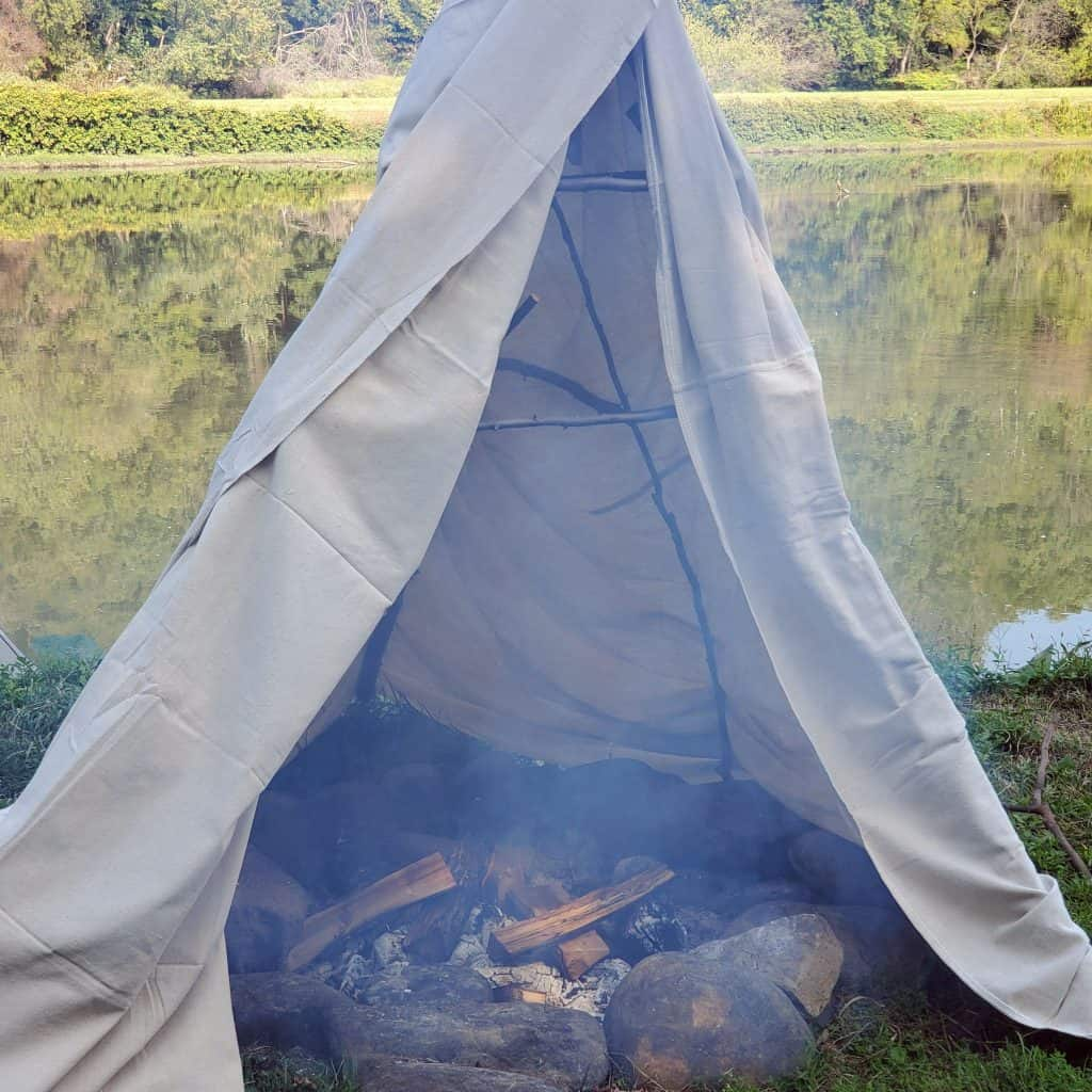 DIY-Smoker-with-cover