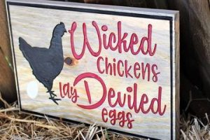 31 Awesome Chicken Coop Signs Ideas
