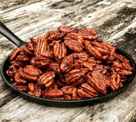 Smoked-Bourbon-Caramel-Pecans_Katie-Wiley-thekitchenwild