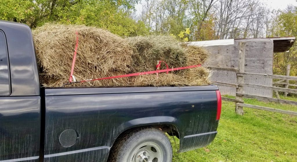 First-load-of-hay-and-outside-of-barn