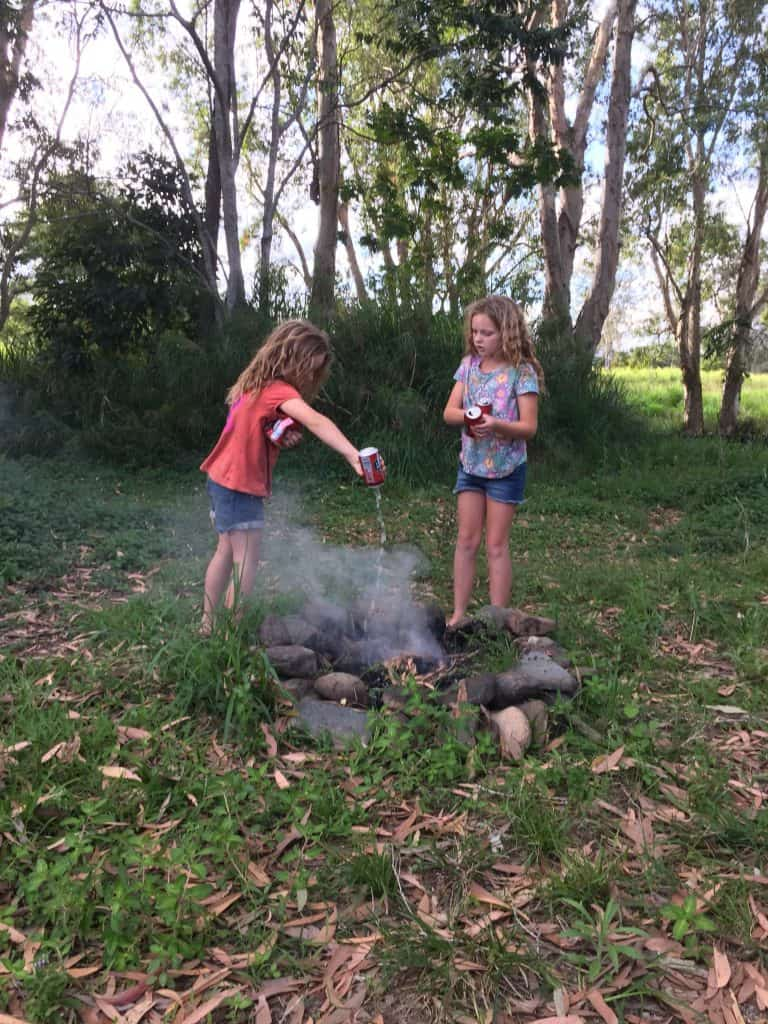 putting-out-a-fire-in-fire-pit
