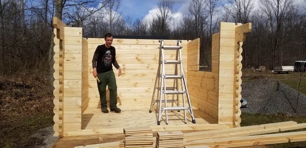 guest-cabin-Walls-nearly-finished