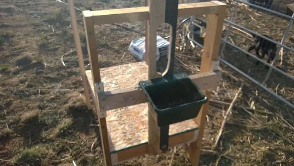 06 Goat Milking Stand - Instructables