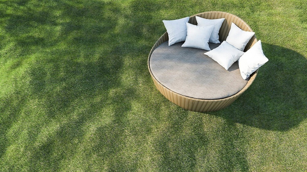 lawn-with-an-obstacle