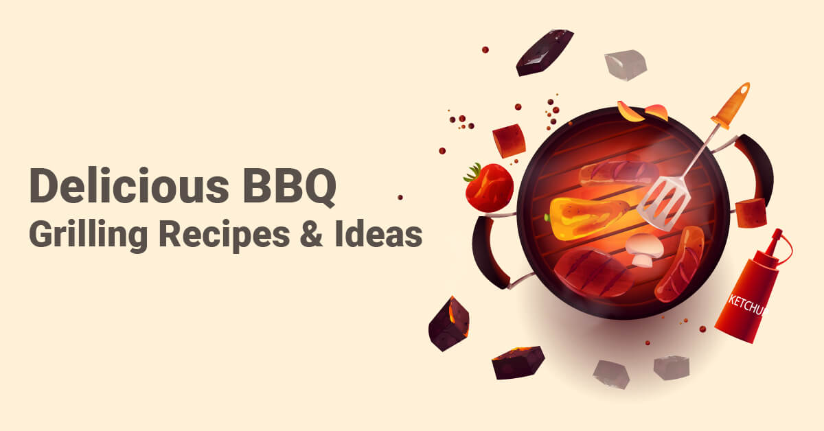 delicious bbq grilling recipes & ideas