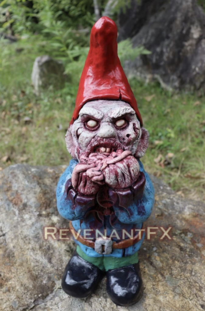 eatmore guts zombie gnome halloween