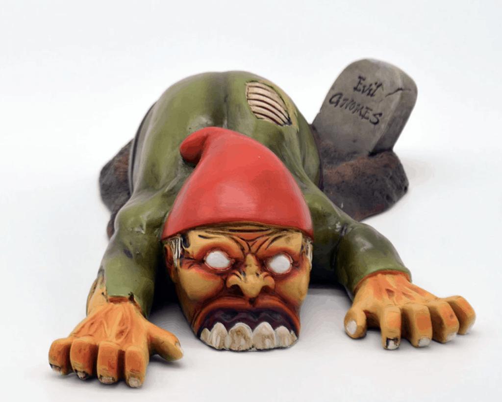 henry crawlins creepy zombie gnome