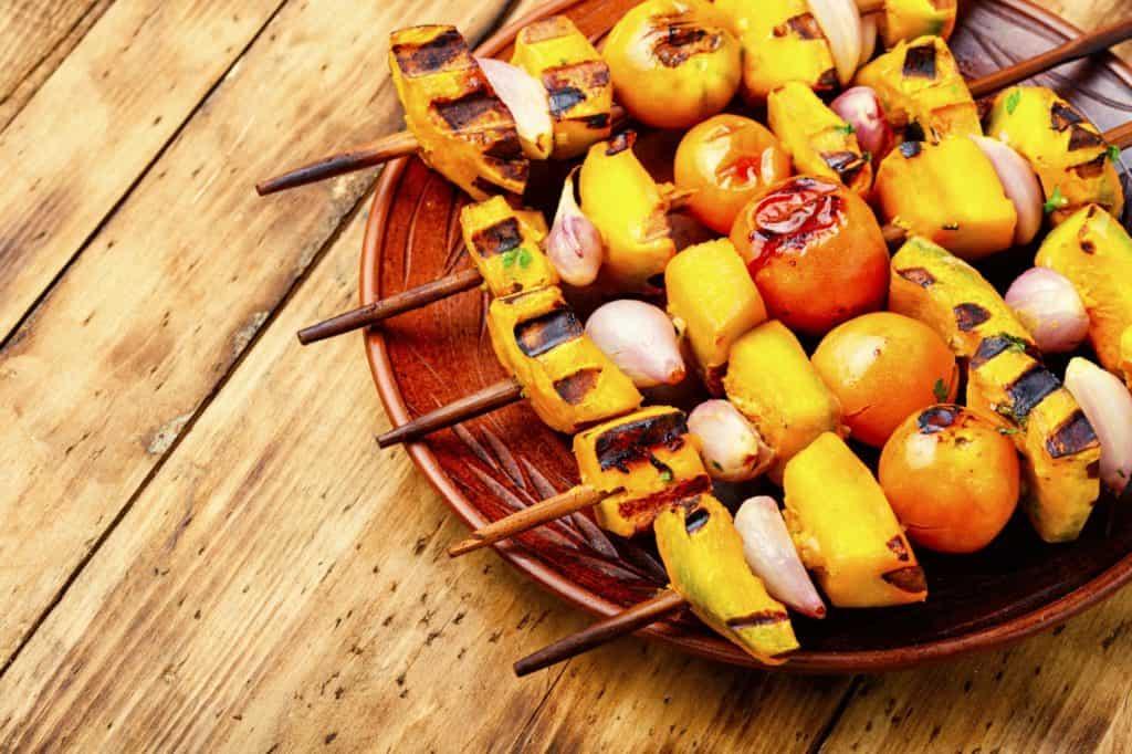 Pumpkin-vegetable-kebab