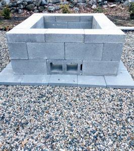 cinder block fire pit 02
