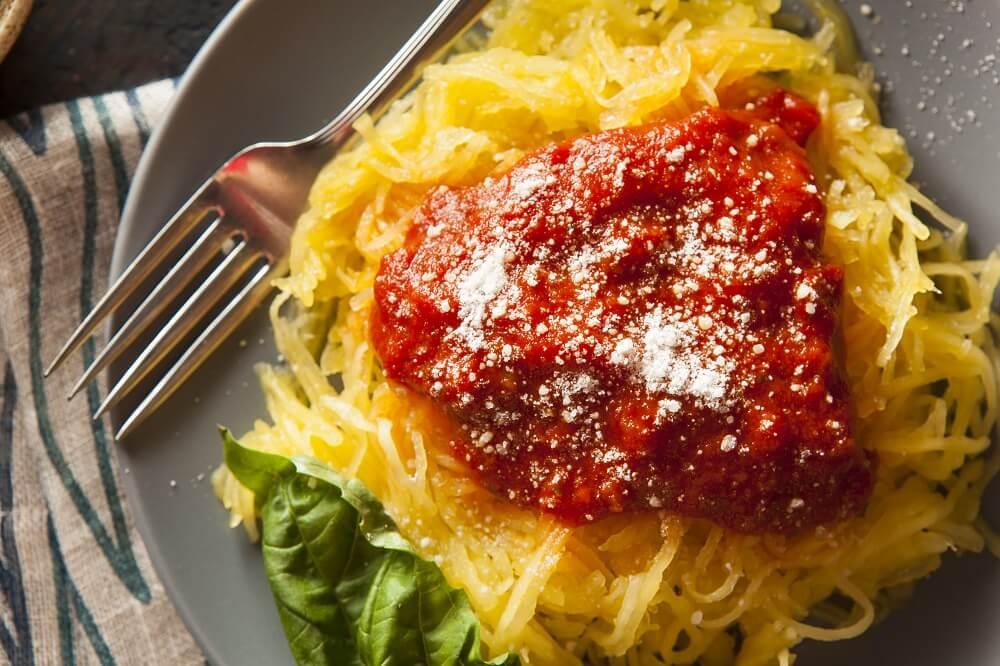 delicious spaghetti squash homemade pasta